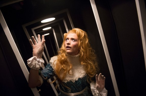 """'Alice's Adventures Underground' Play performed in The Vaults, London, UK"""