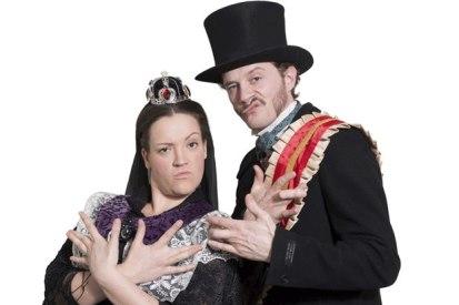 Victoria and Albert Horrible Histories